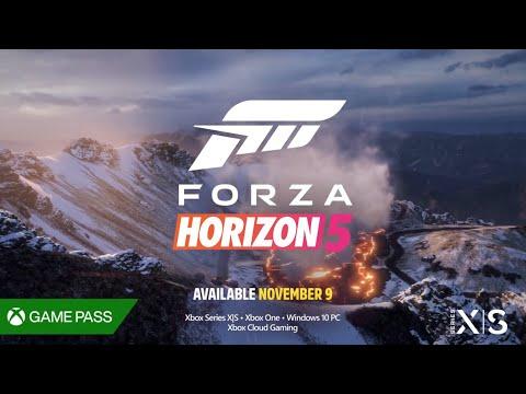 FORZA HORIZON 5 BANDE ANNONCE TRAILER