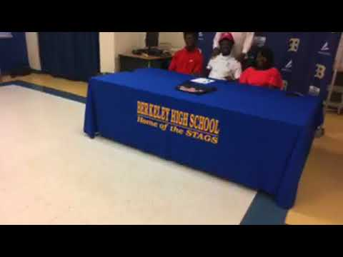 Ephraim Butler signs to play basketball for Francis Marion University