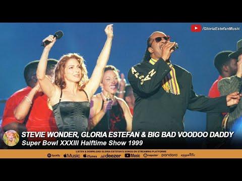 Stevie Wonder, Gloria Estefan & Big Bad Voodoo Daddy - Super Bowl XXXIII Halftime Show 1999