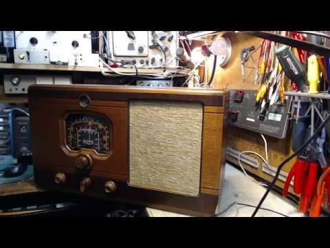 Rogers 8R931 Vacuum Tube Radio Video #1 - Checkout
