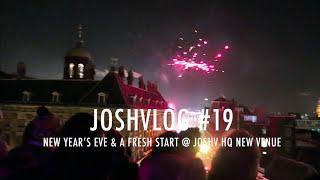 JOSHVLOG #19   EMOTIONEEL AFSCHEID JOSH V HQ   New Year's Eve & a fresh start @JOSHV HQ's new venue