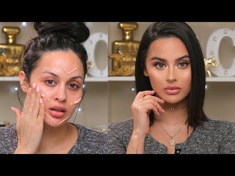 Easy Natural Full Coverage Makeup Tutorial