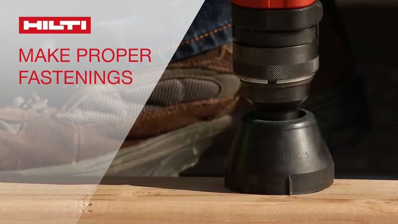 HOW TO make a proper fastening with Hilti powder-actuated tools ...