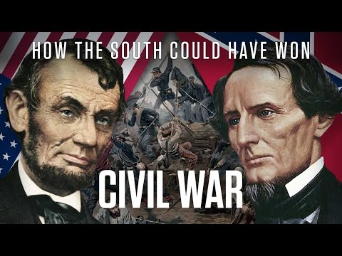 American Civil War | How The South Could Have Won