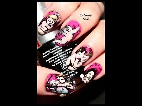 HD MoYou London Nail Art Products-Nail Art Stamping Tutorial/Review ...