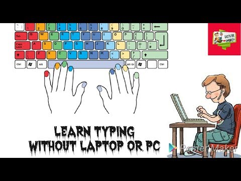 Learn Typing Without Pc