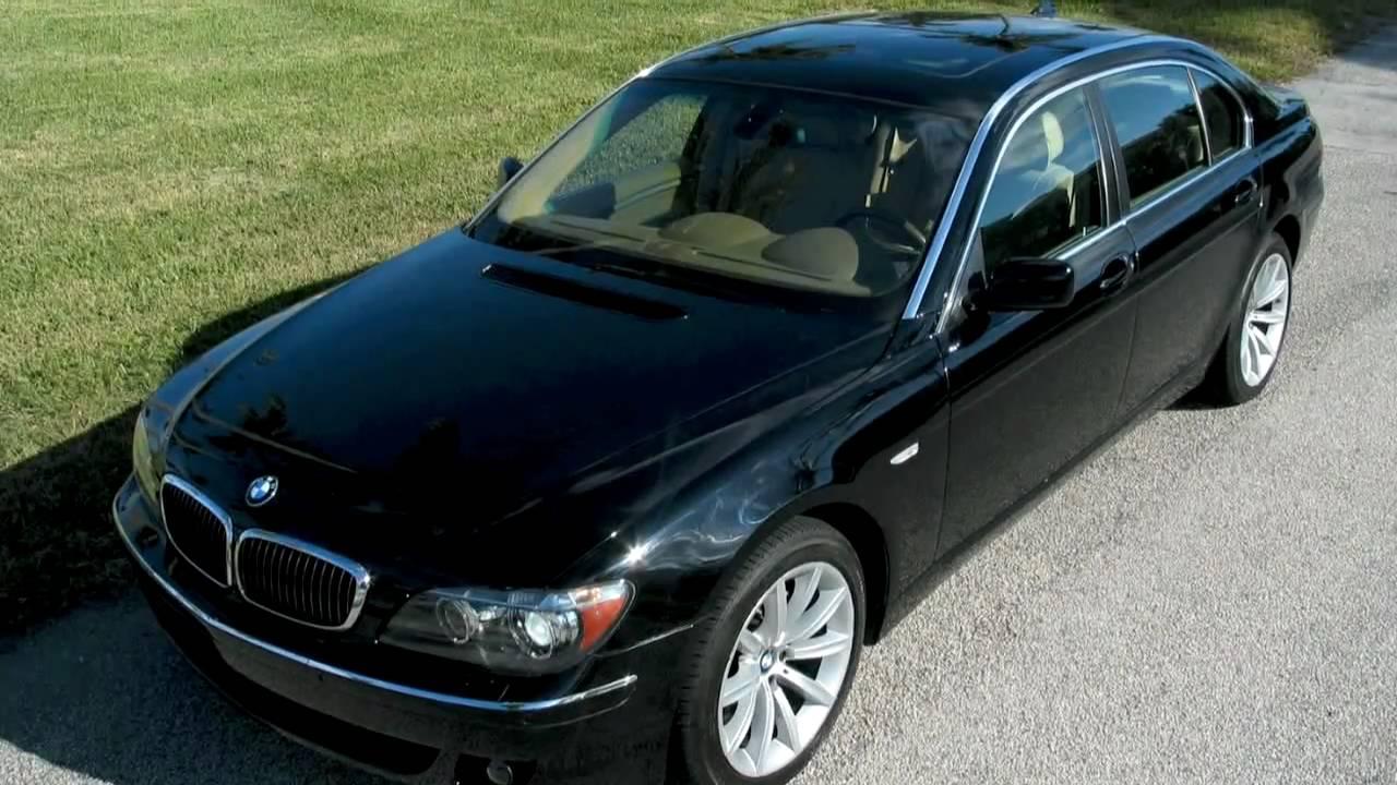 BMW Li A YouTube - 2007 bmw 750il
