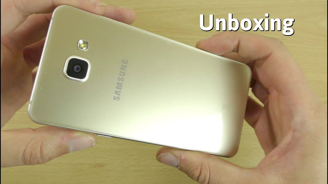 samsung galaxy a5 2016 unboxing first look 4k youtube. Black Bedroom Furniture Sets. Home Design Ideas