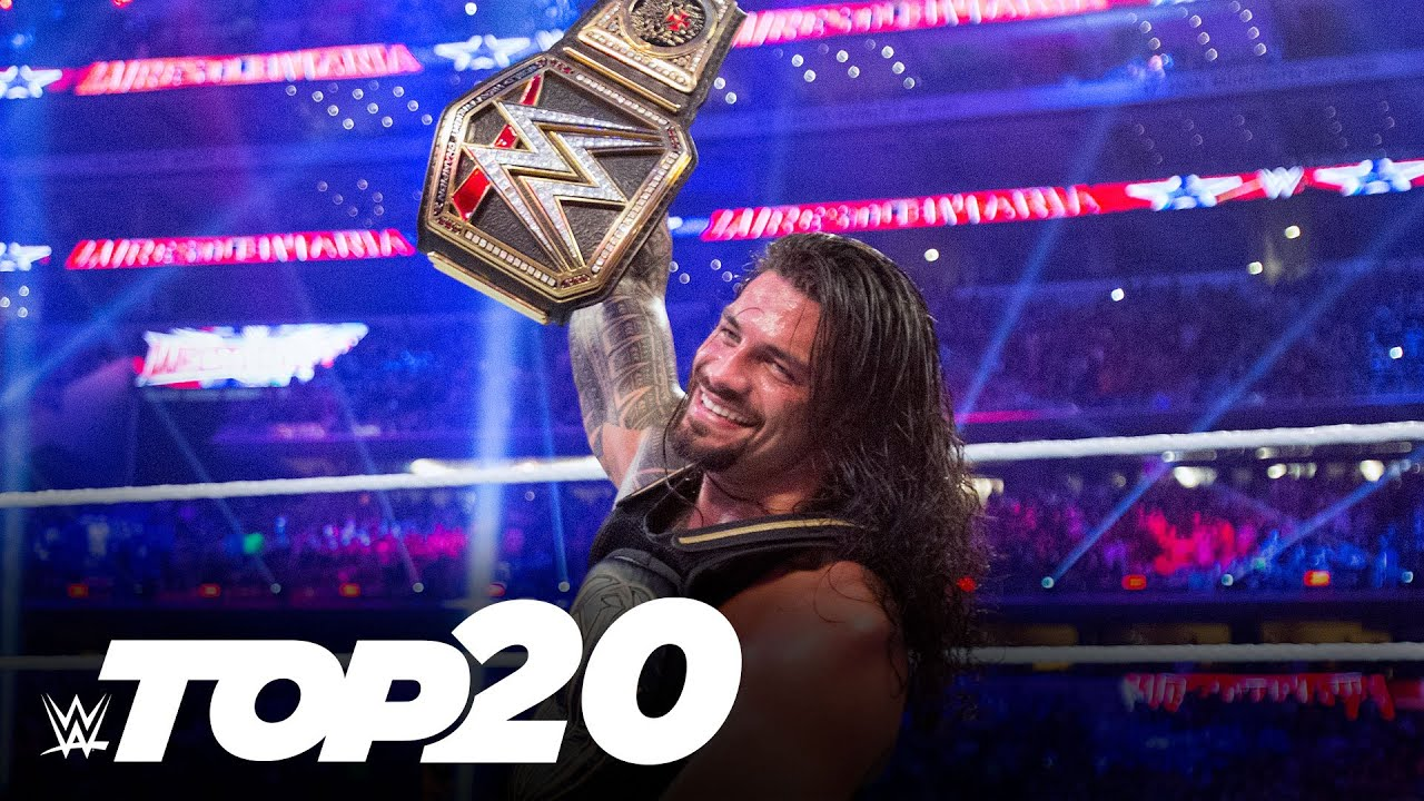 20 greatest WrestleMania title changes: WWE Top 10 Special Edition, March 24, 2021