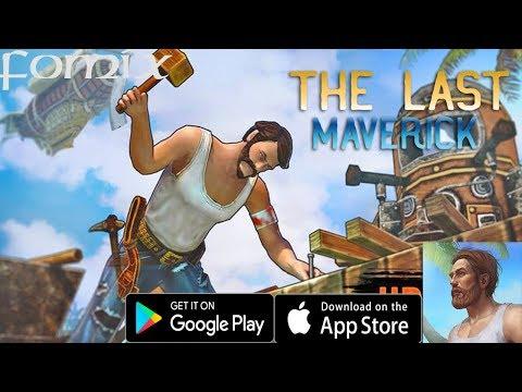 The Last Maverick - Survival - первый взгляд, обзор (Android Ios)