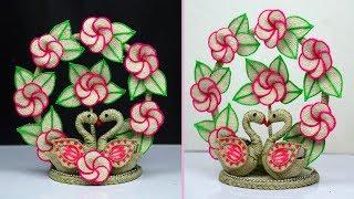 Jute craft showpiece - Jute Showpiece for home decoration - Best out of waste