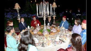 Quand Mohammed VI présente la famille royale à Emmanuel Macron (Bladi.net)