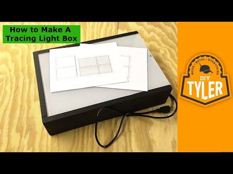 How To Make Diy Led Tracing Light Box