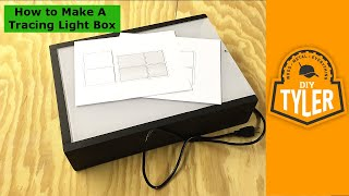 How To Make A Diy Tracing Light Box 020