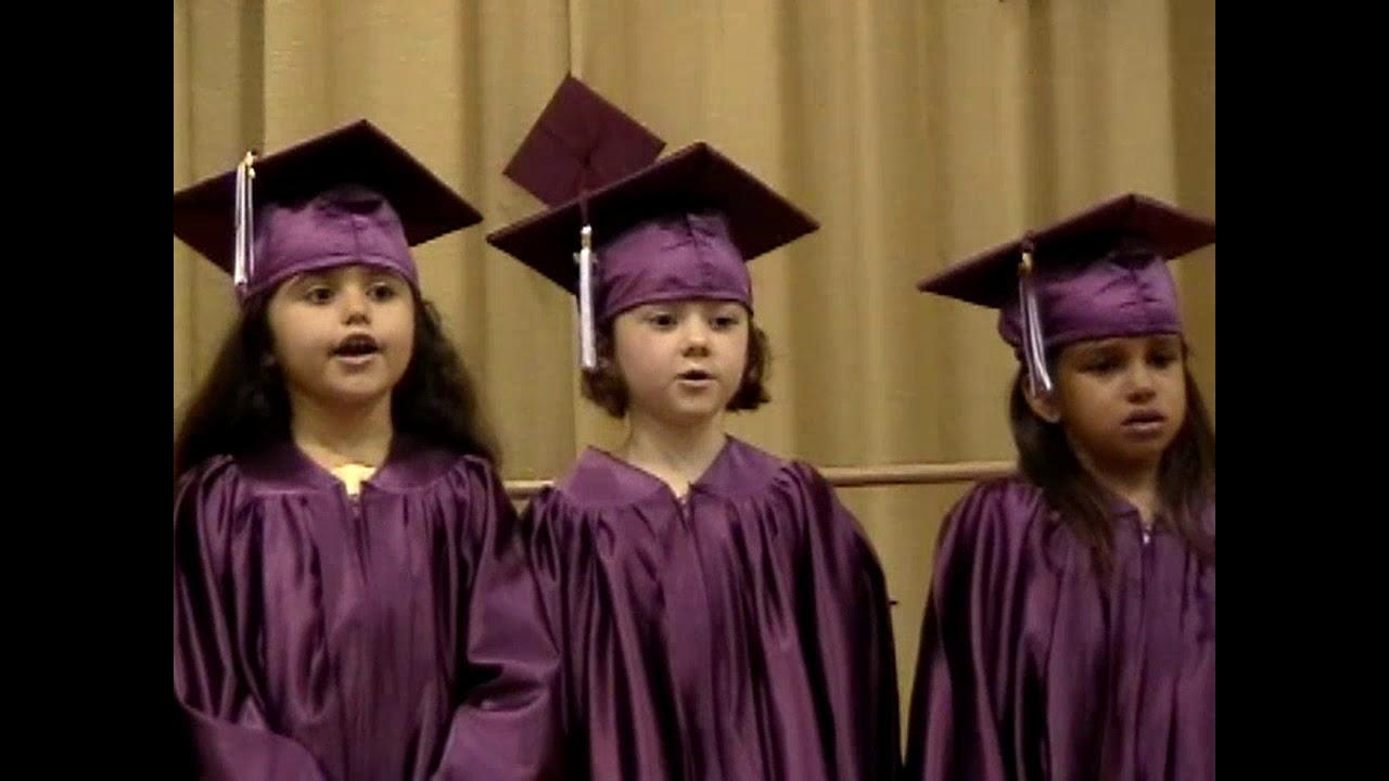 Mooers Kindergarten Graduation  6-18-10