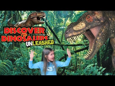 March 12, 2017 - Discover the Dinosaurs Dinosaurs Unleashed