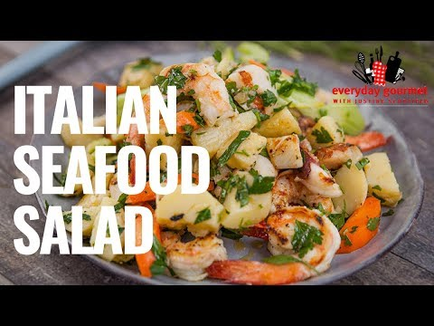 Italian Seafood Salad | Everyday Gourmet S8 E55