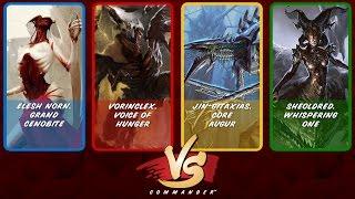 Commander VS S7E2: Elesh Norn vs Vorinclex vs Jin-Gitaxias vs Sheoldred [MTG]