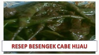 Video RESEP BESENGEK CABE HIJAU download MP3, 3GP, MP4, WEBM, AVI, FLV Mei 2018
