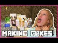 Making Cakes in OUR CAKE FACTORY!