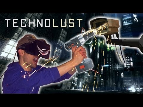 TECHNOLUST Oculus Rift Cyberpunk Fiction Virtual Reality Experience