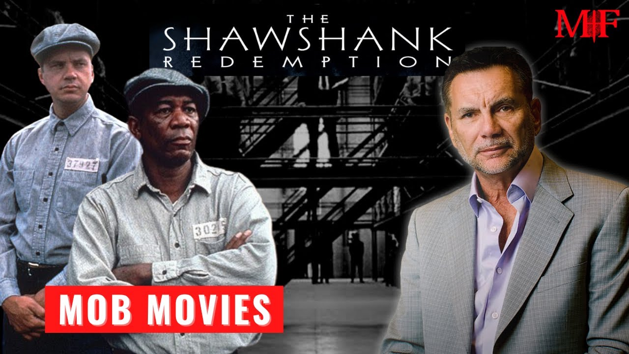 "Mob Movie Monday Review ""The Shawshank Redemption"" Tim Robbins And Morgan Freeman 