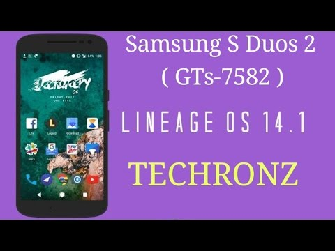 LINEAGE ROM FOR SAMSUNG GALAXY S DUOS 2 (GTS-7582)