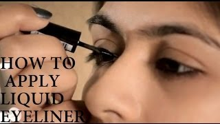 How to Apply Liquid Eyeliner Thumbnail