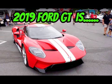 THE 2019 FORD GT IS AMERICA'S CRAZIEST SUPERCAR