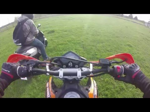 Hardcore KSR tw 125 sm Off-roading, plus can you take a scooter off-road ?