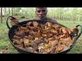 WOW!!!100 Fresh COUNTRY CRABSPEPPER CRAB Without Coconut Prepared by my unclefood fun village