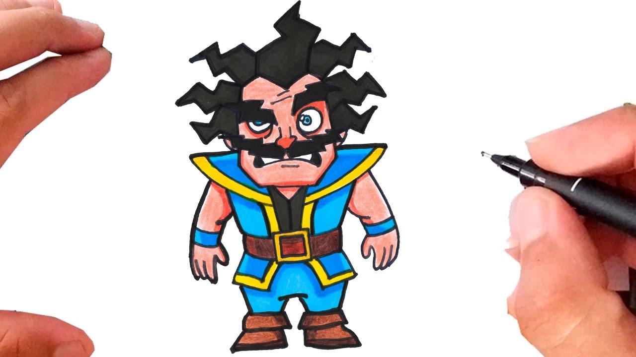 Top Como Desenhar e Pintar MAGO ELÉTRICO - clash royale - YouTube FL61