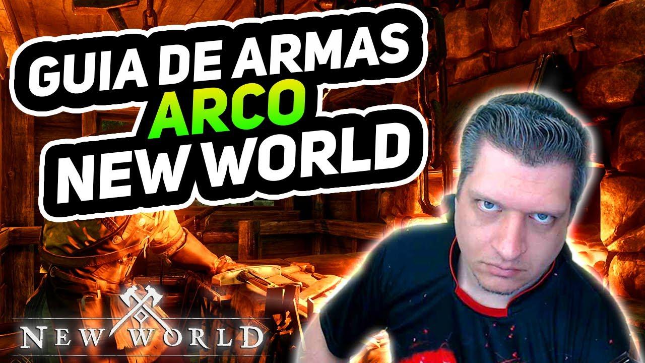 GUIA DE ARMAS E BUILDS - ARCO!   NEW WORLD DICAS