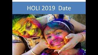 2019 HOLI II  Festival Date & Time in India II HOLI 2019 DATE II