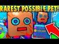 THE RAREST POSSIBLE PET SHINY Giant Robot Roblox Bubble Gum Simulator mp3