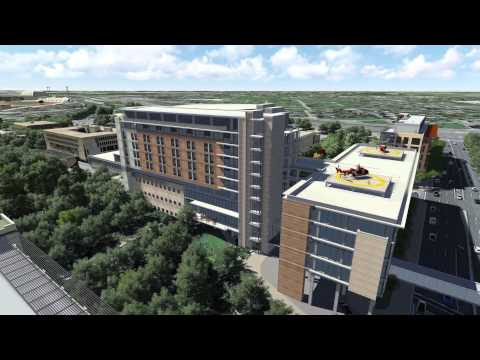 Fly Around: Dell Seton Medical Center at The University of Texas