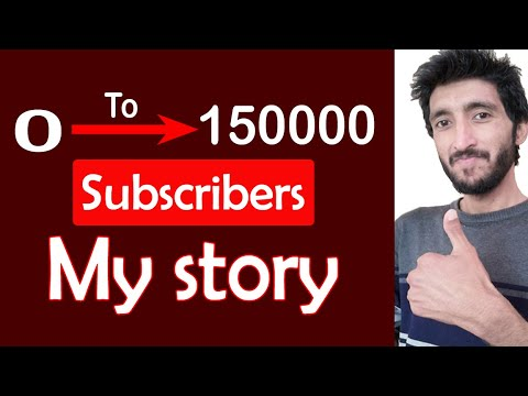 0 To 150k Subscribers | My Success Story | Youtube Success Story | Youtube Creators Motivation Video