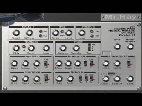 Download Free Electric piano plug-in: Mr Ray by GSi