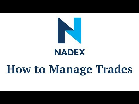 How to Manage Trades
