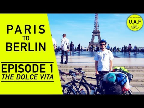 Paris To Berlin   Bike tour takes us straight to the emergency room after 10 minutes