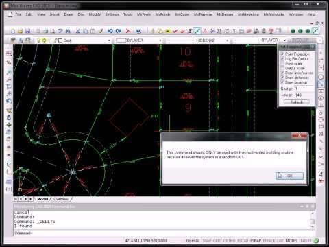 autocad civil general problem tutorial importing points from