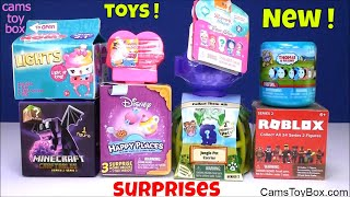Toy Surprises Num Noms Barbie Squishy Pops Minecraft Disney Jungle Pet Carrier 2 Roblox Teenie Genie