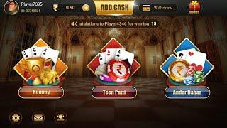 Teen patti klub app rummy game playing...nice app screenshot 3