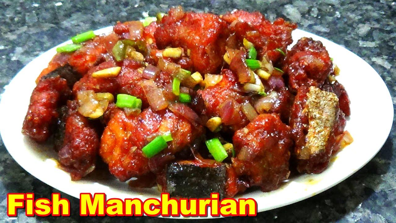 Chilli Fish Manchurian...