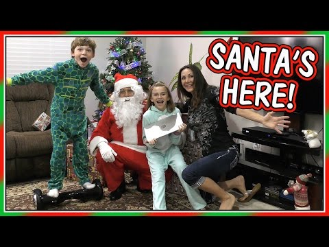 SANTA CAME EARLY! | CHRISTMAS EVE SPECIAL 2016 | We Are The Davises