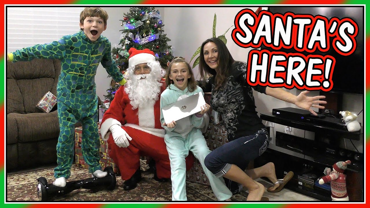 Santa Came Early Christmas Eve Special 2016 We Are The Davises