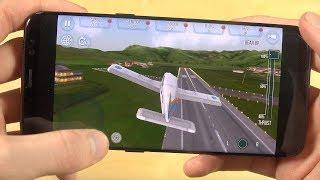 Take Off Flight Simulator Samsung Galaxy S8 Gameplay Review!
