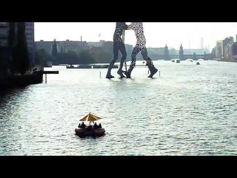 Berlin Tourist guide,Spreebrücke,Elsenbrücke Berlin Treptow, Google maps:http://goo.gl/maps/86YDt