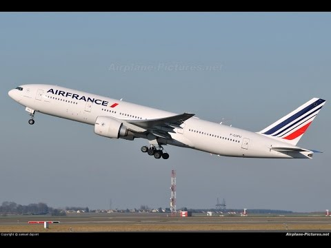 Buenos Aires Argentina (SAEZ) to Paris CDG (LFPG) FSX Air France B777-200 Flight 3 of 3