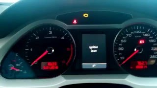 Audi A6C6 3.0TDI первый запуск (-20С)